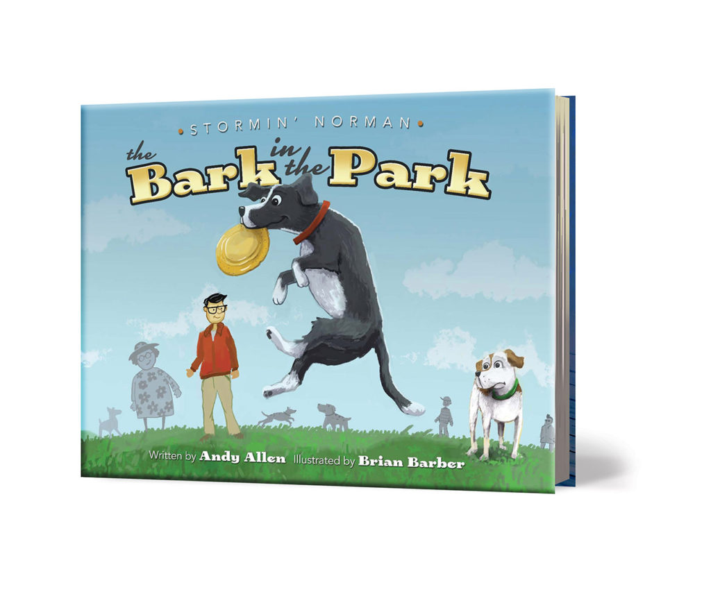 Bark in Park Cover3dWeb